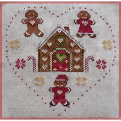 Gingerbread House at Christmas  - Le petit point compte