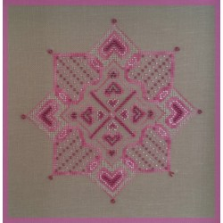 Pink Star  - Le Petit Point Compte