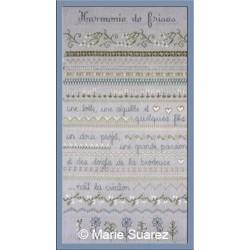 Harmonie de frises - Coeur de lin