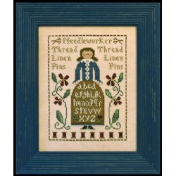 The Sampler Lady - Little house Needleworks