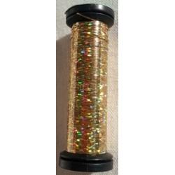 Fil metalise KREINIK 002L - Chromo Gold - Holographic