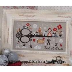 Let It Snow - Barbara Ana Designs
