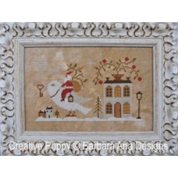 Santa, the Dove, and the key - Barbara Ana Designs