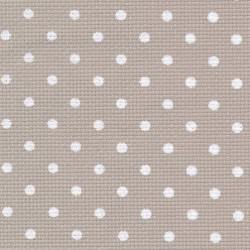 Aîda 8 Beige Petit Pois blanc (3189) - ZWEIGART