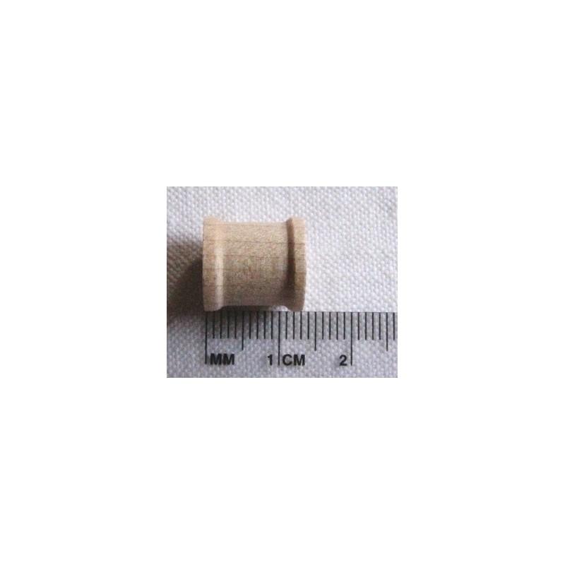 Mini bobine en bois 1,2 cm diam.