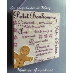 Malicieux Gingerbread - Fanfreluches de Mary