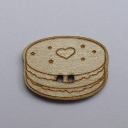 Bouton Macaron