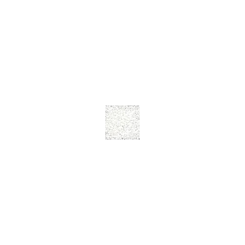 Glass Seed Beads 02058 - Crayon White