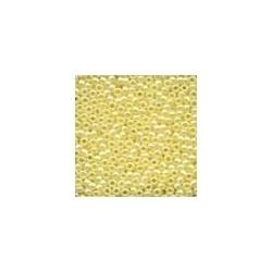 Glass Seed Beads 02002 - Yellow Creme