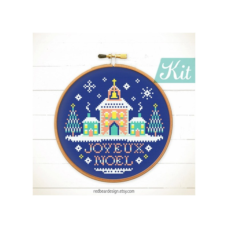 Joyeux Noel Kit  - RedBear Design