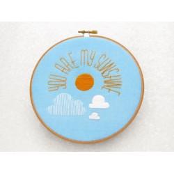 You are my sunshine / Tu es mon soleil - Toile Imprimée