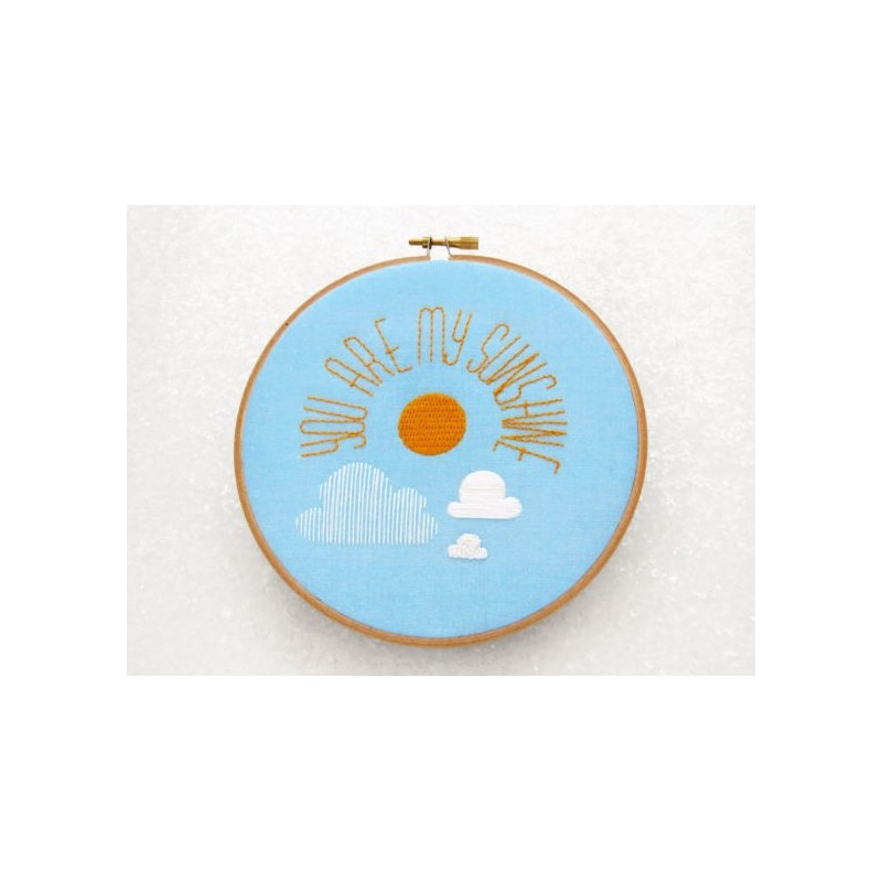 You are my sunshine / Tu es mon soleil - Toile Imprimée