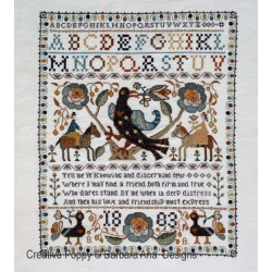 Portuguese Bird Sampler - Barbara Ana Designs
