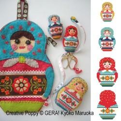 Matrioshka Needlework Set - GERA! by Kyoko Maruoka