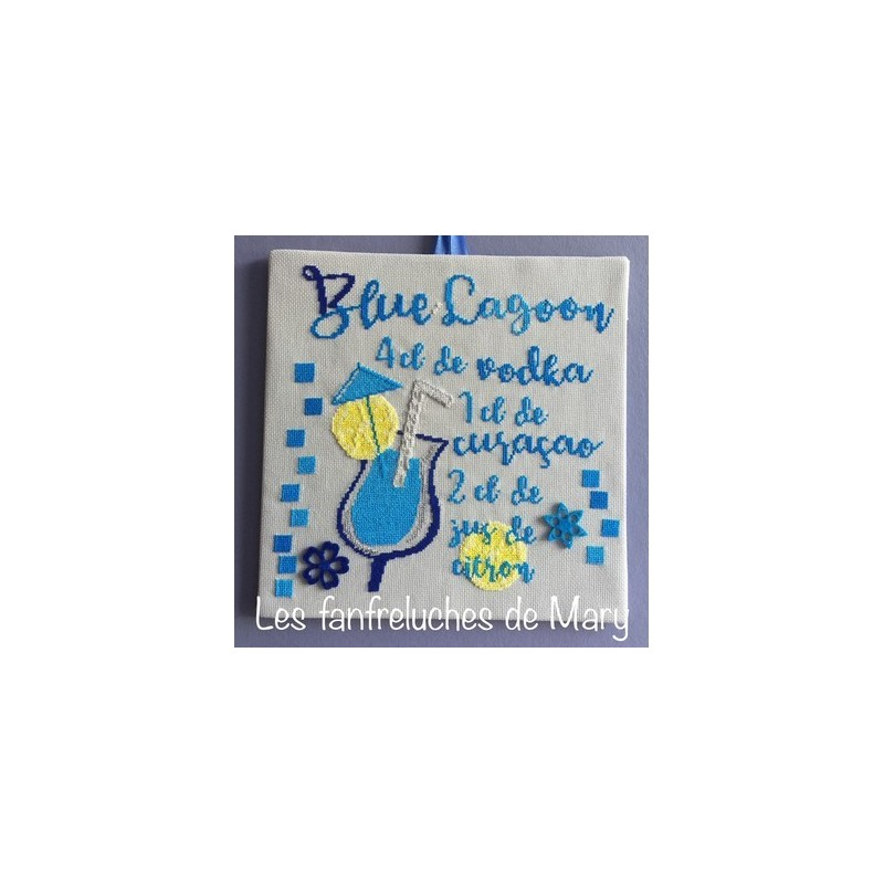 Cocktail : Blue Lagoon - Fanfreluches de Mary