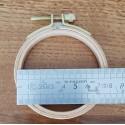 Tambour à broder en bois 7.5 cm