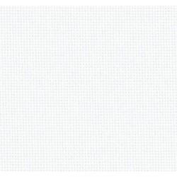 LUGANA Etamine 10 fils - Blanc (100) ZWEIGART