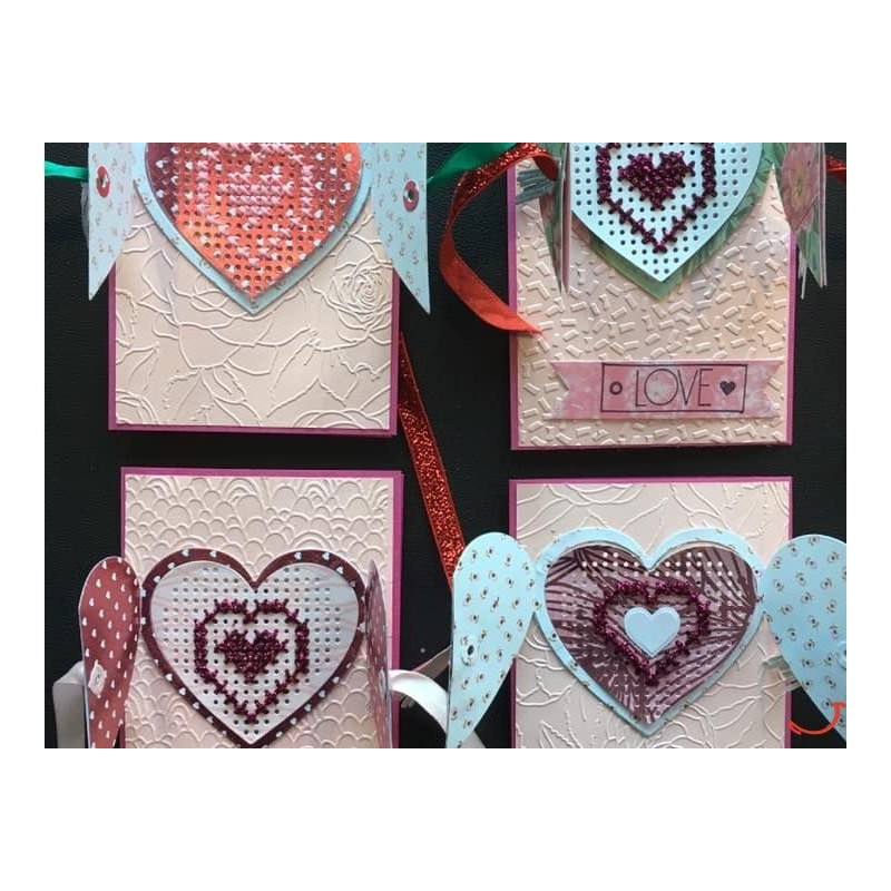 Kit Scrap&Broderie : LOVE  - CartÔmary / Fanfreluches de Mary