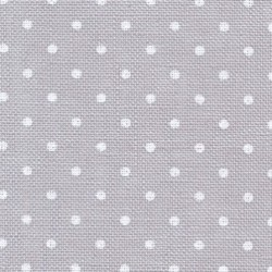 Murano 12.6 fils - Gris à pois blanc  (7349) - ZWEIGART