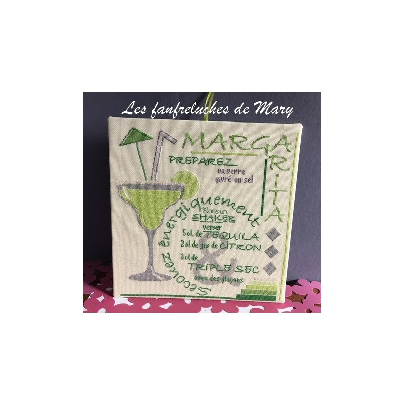 Cocktail : Margarita  - Fanfreluches de Mary
