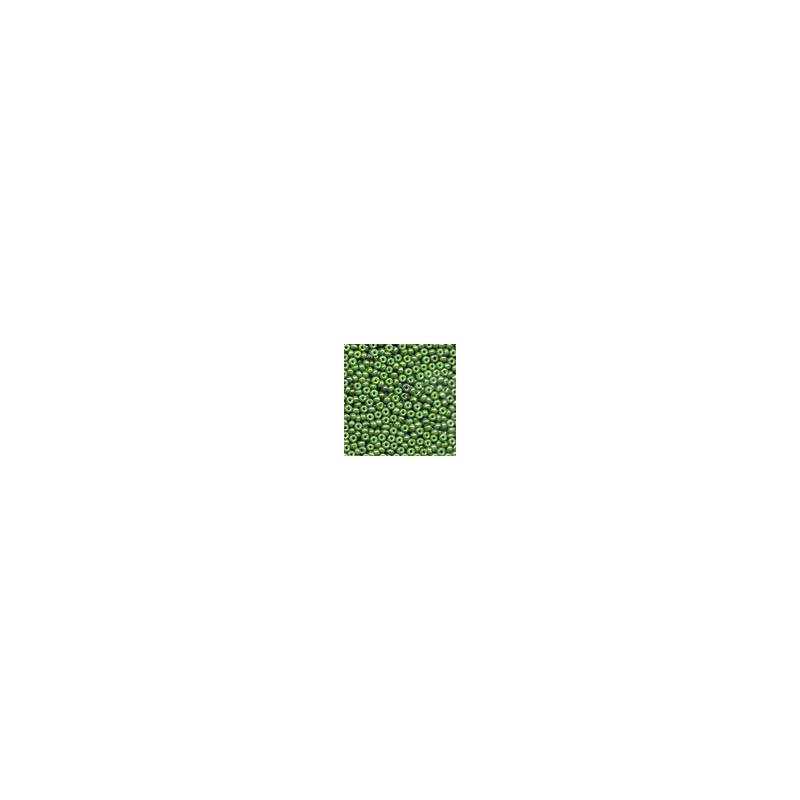 Glass Seed Beads 02053 - Opaque Celadon