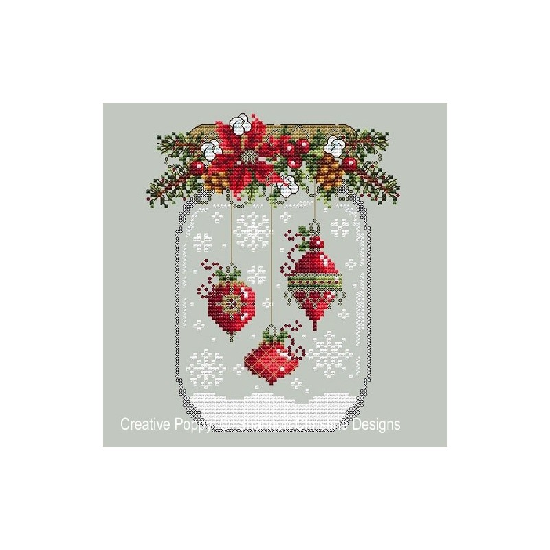 Christmas Ornament Snow Globe - Shannon Christine Designs
