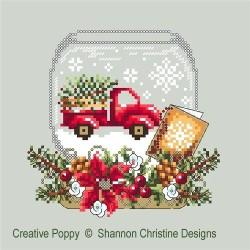 Truck Snow Globe - Shannon Christine Designs