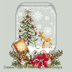 Deer Snow Globe - Shannon Christine Designs