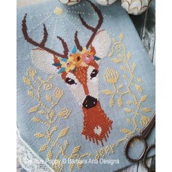 Spring Deer - Barbara Ana Designs