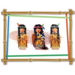 Mes Poupées indian - Le Jardin d'Emilie