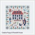 Mini Jane Austen Sampler - RIVERDRIFT House Needlwork