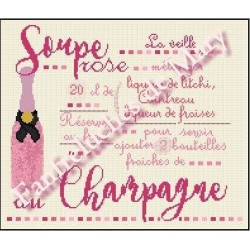 Soupe Rose - Fanfreluches de Mary