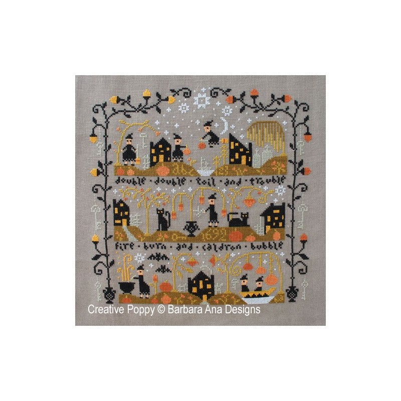 Black Cat Hallow (le vallon au chat noir) - Barbara Ana Designs