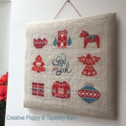 Christmas Sampler - Tapestry Barn