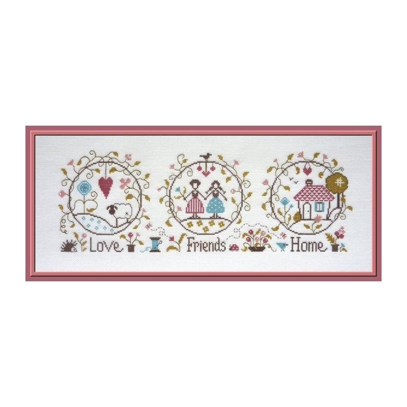 Love, Friends & Home - Jardin Prive