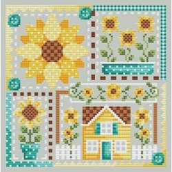 Sunflower Patchwork - Shannon Christine Designs